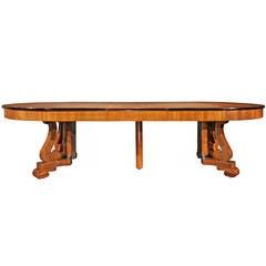 19th Century Biedermeier Dining Table