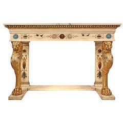 Italian 19th Century Neoclassical Style Console