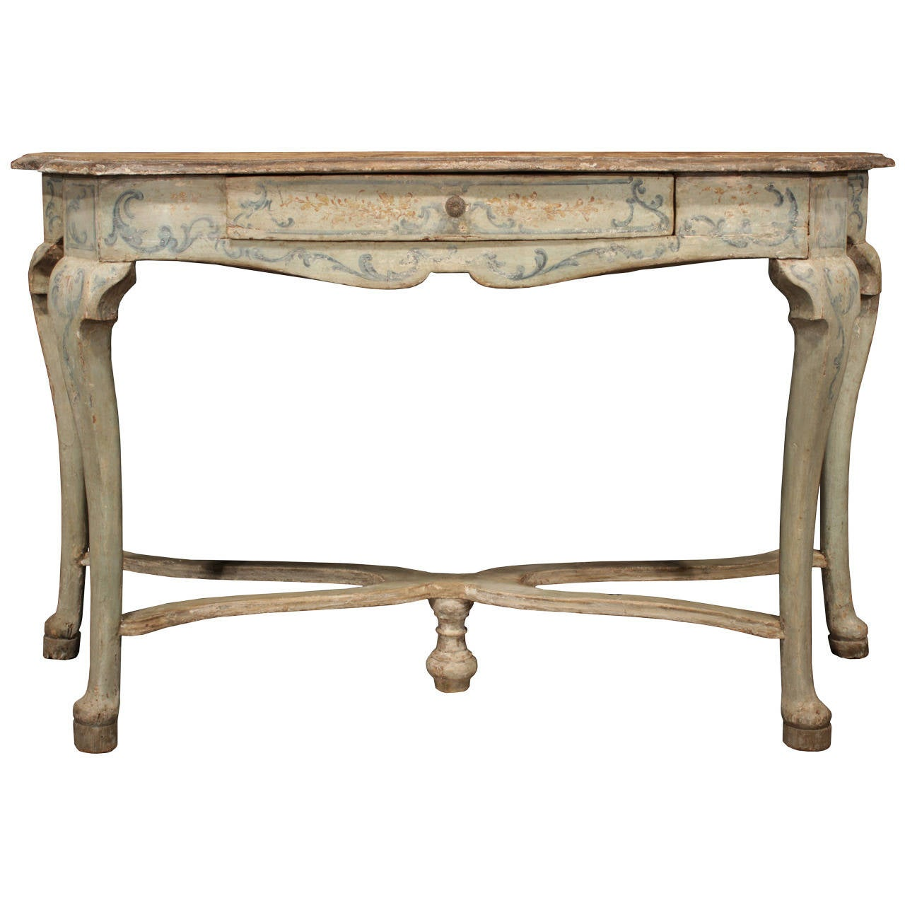italian early 18th century louis xv period patinated console table for sale at 1stdibs. Black Bedroom Furniture Sets. Home Design Ideas