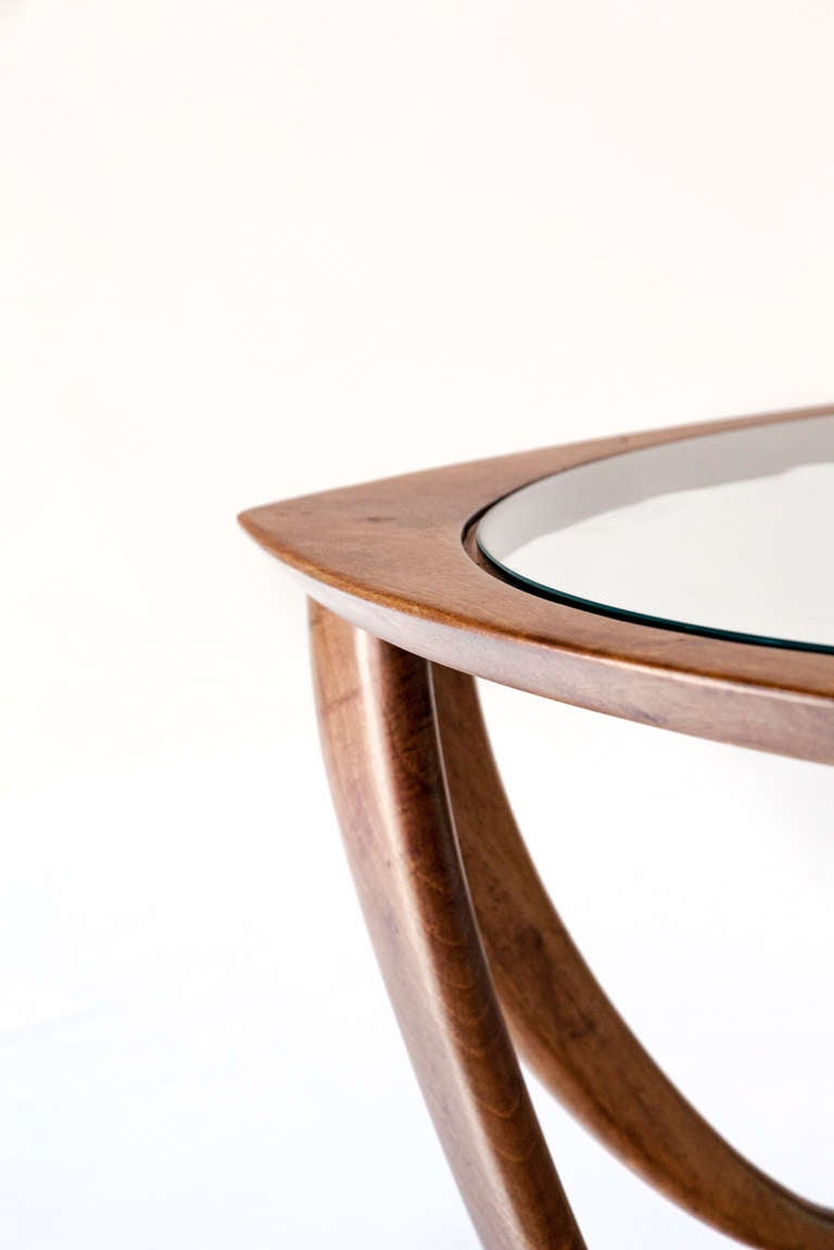 Fine And Elegant Melchiorre Bega Coffee Table 1950 At 1stdibs