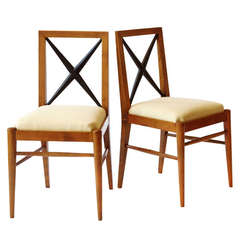 Pair of Tomaso Buzzi Chairs, circa 1936