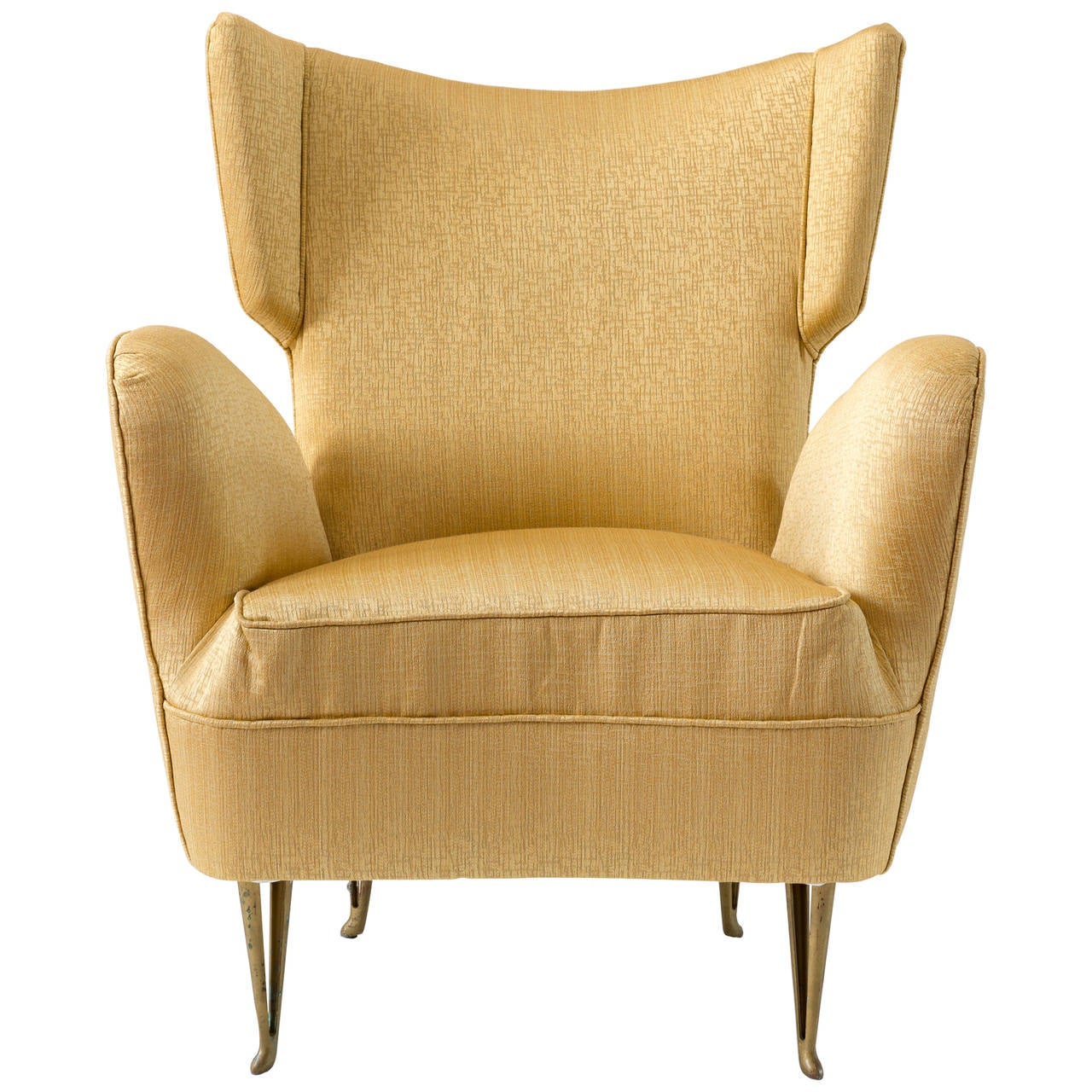Good Elegant Armchair By Isa Bergamo, 1950 For Sale