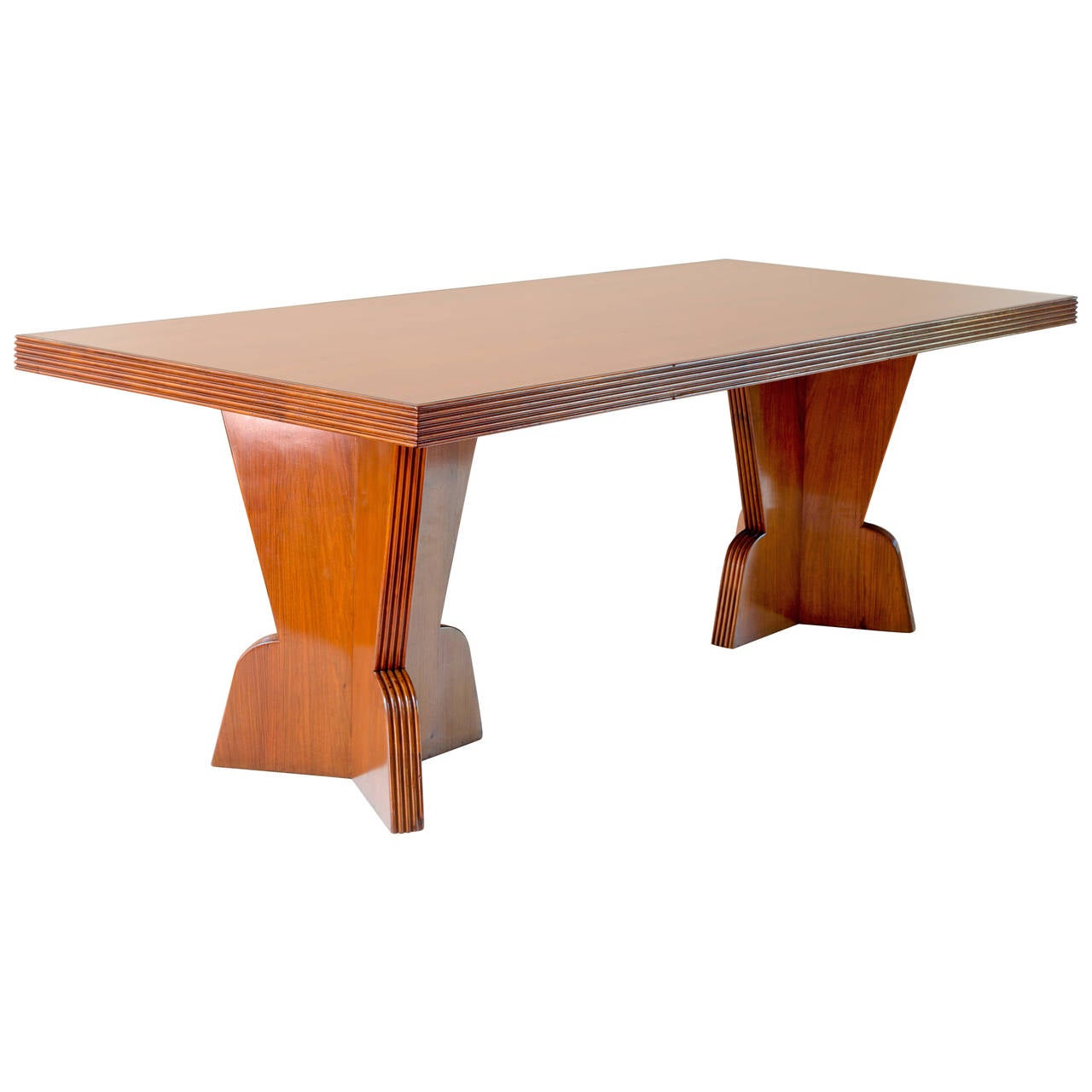 Executive Unique Gio Ponti Conference Table 1939 At 1stdibs