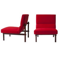 "Pair of Ico and Luisa Parisi Lounge Chairs ""869"" by Cassina"