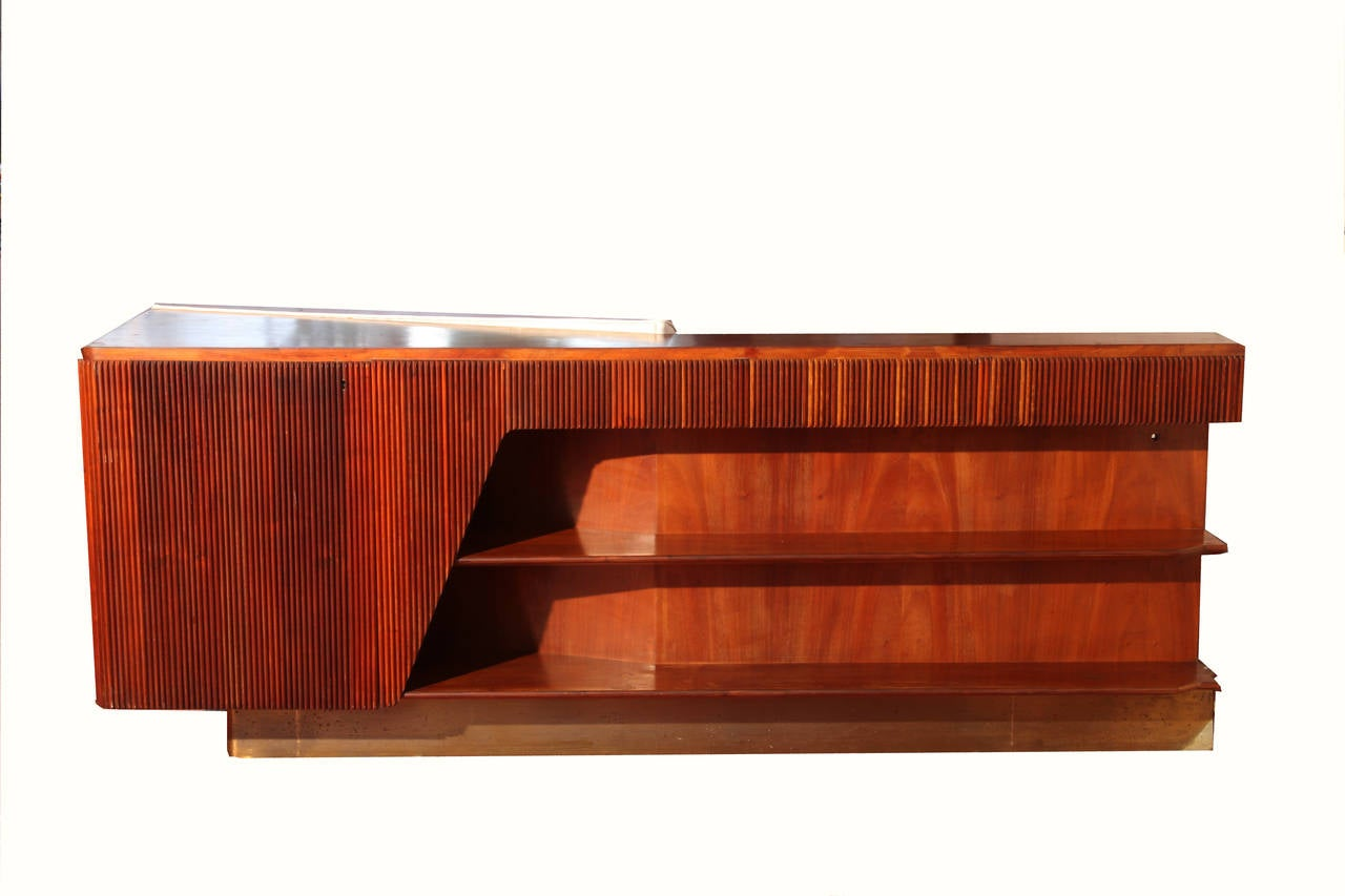 Important Room Divider Bookcase Whit a Sofa by Dassi
