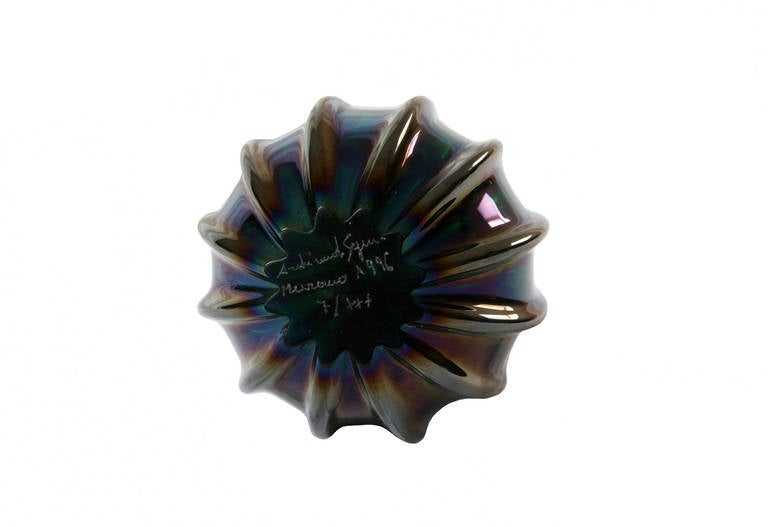 Late 20th Century Archimede Seguso Glass Egg,1996 For Sale