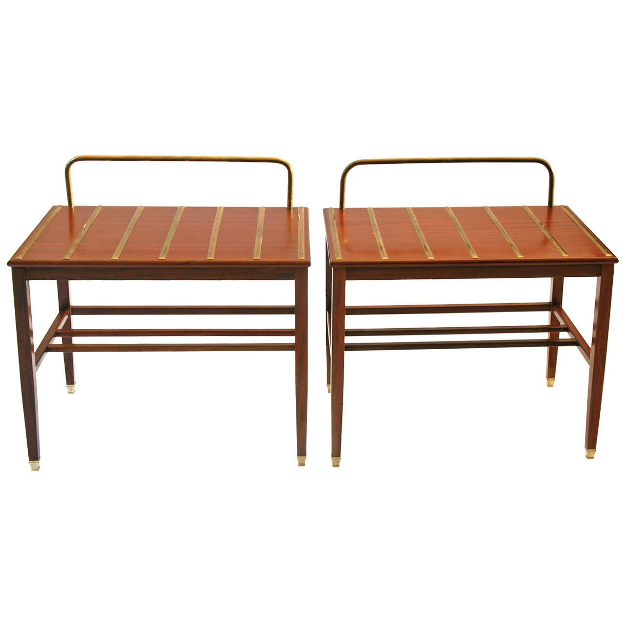 Pair of gio ponti side tables by hotel royal naples 1955 for Table 52 naples
