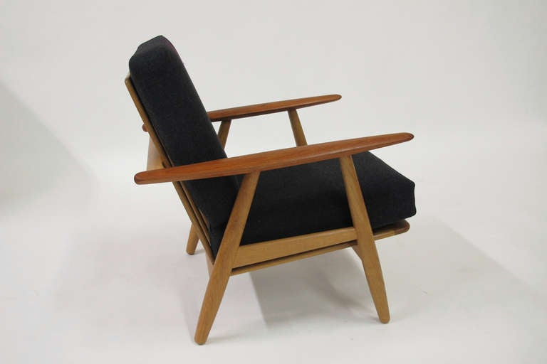 Hans Wegner Cigar Lounge Chairs at 1stdibs