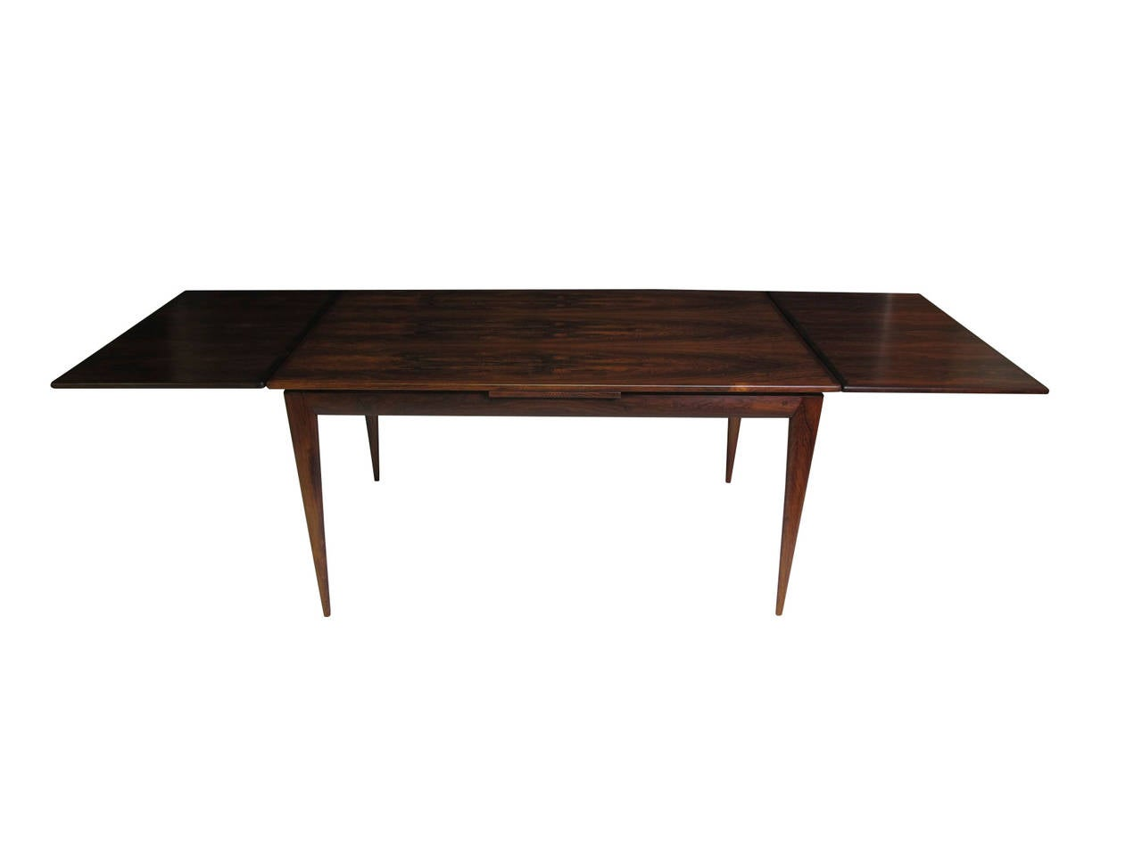 Niels otto moller danish rosewood dining table at 1stdibs - Dining table scandinavian ...