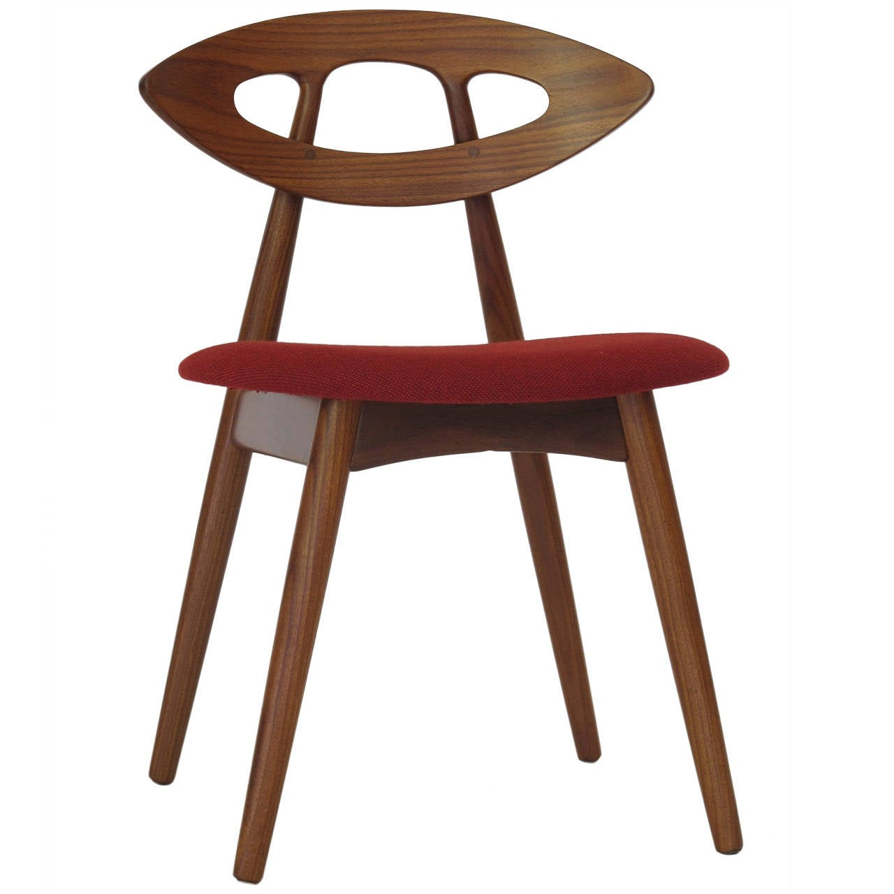 Four Ejvind A Johansson Danish Quot Eye Quot Chairs At 1stdibs