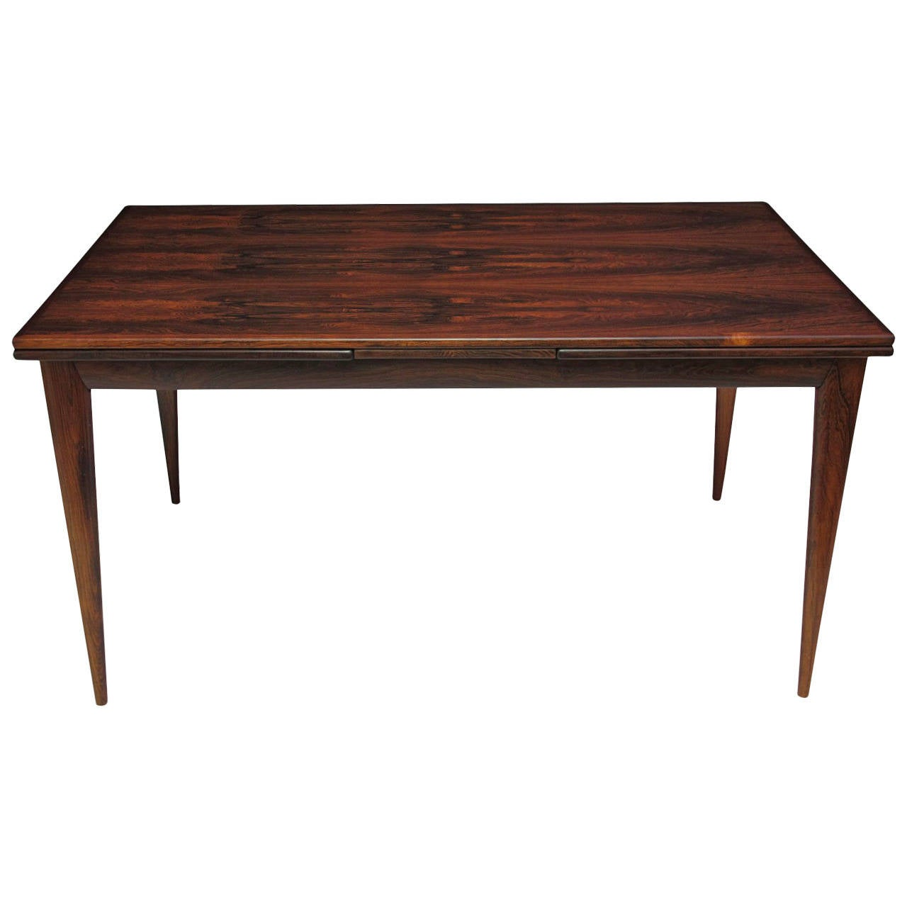 niels otto moller danish rosewood dining table at 1stdibs