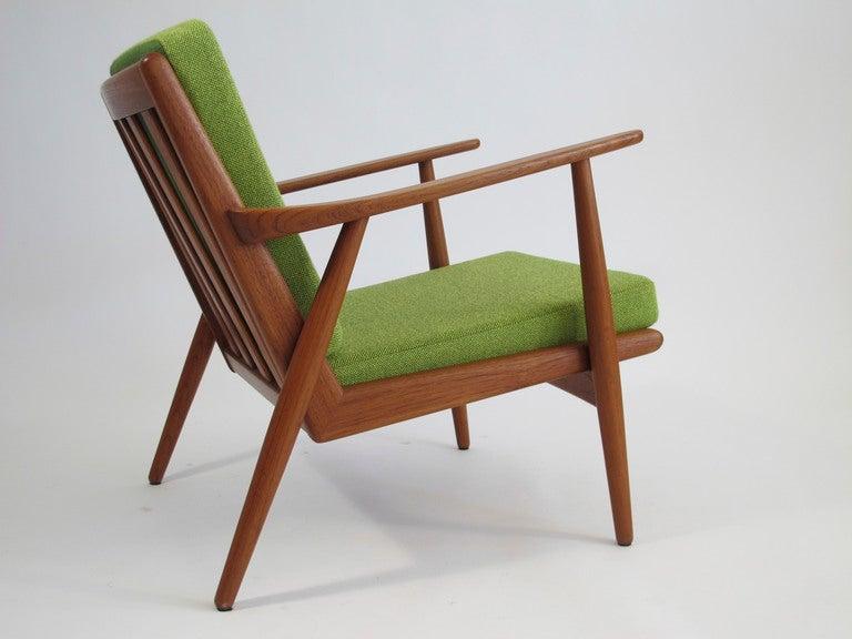 Mid Century Danish Teak Lounge Chair at 1stdibs
