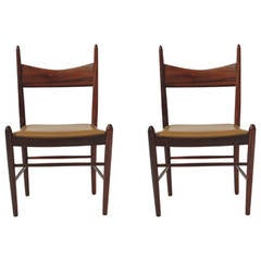 16 Brazilian Rosewood Danish Dining Chairs