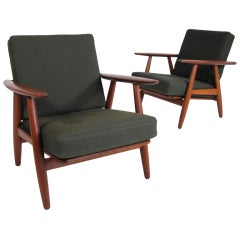 Hans Wegner Cigar Arm Chairs