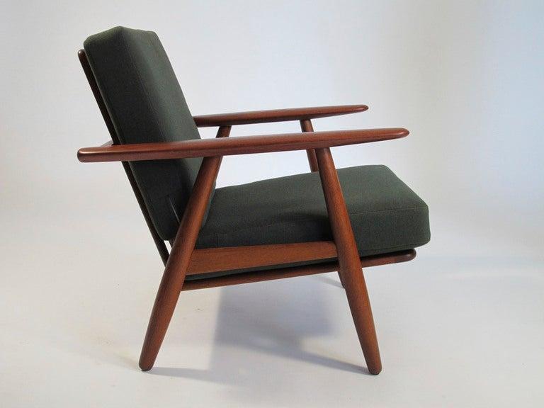 Hans Wegner Cigar Arm Chairs at 1stdibs