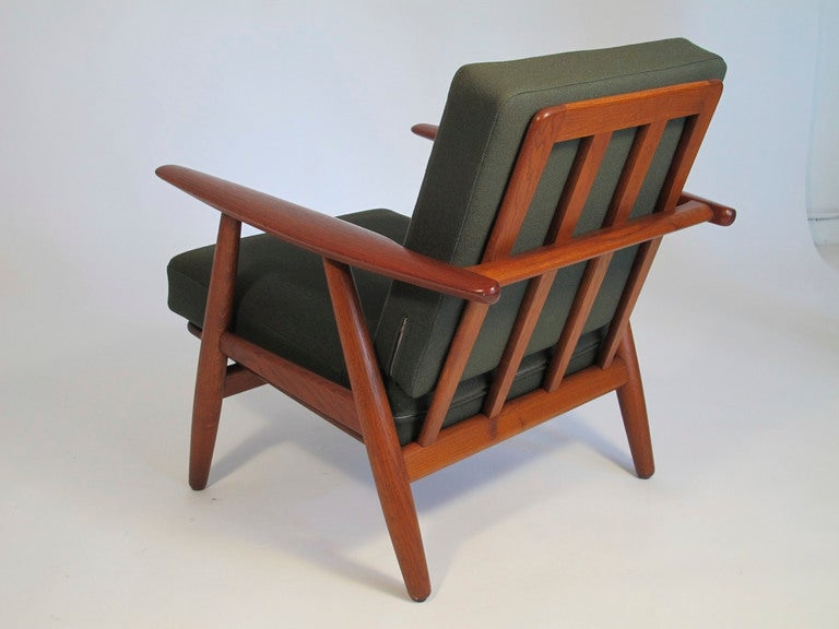 Hans Wegner Cigar Arm Chairs at 1stdibs