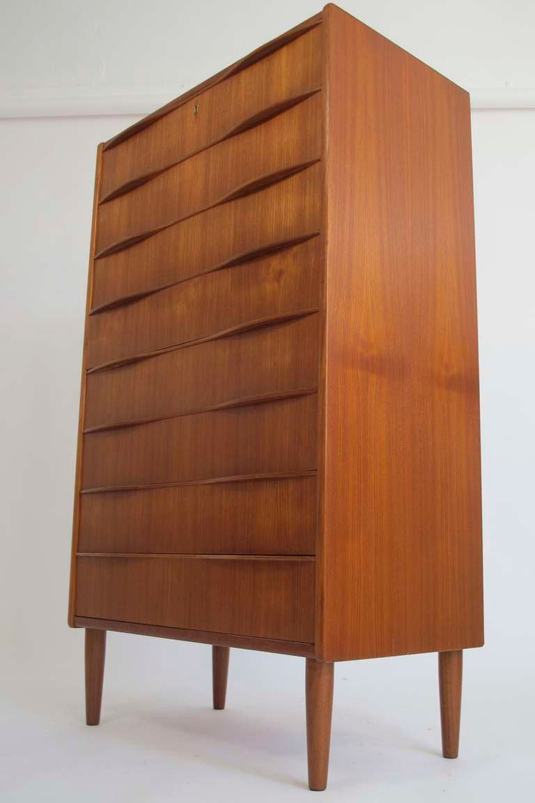 Danish modern chest of drawers at stdibs