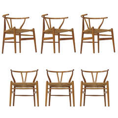 First Production Wishbone Chairs by Hans Wegner
