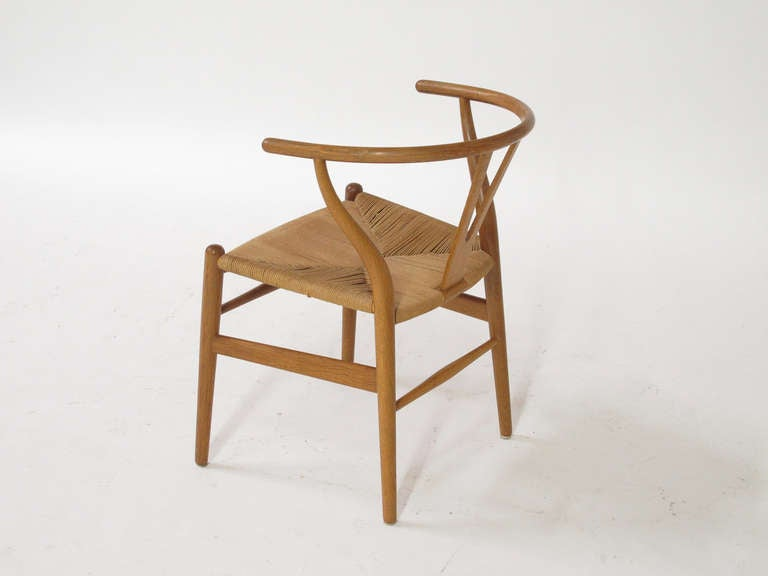 First Production Wishbone Chairs By Hans Wegner At 1stdibs