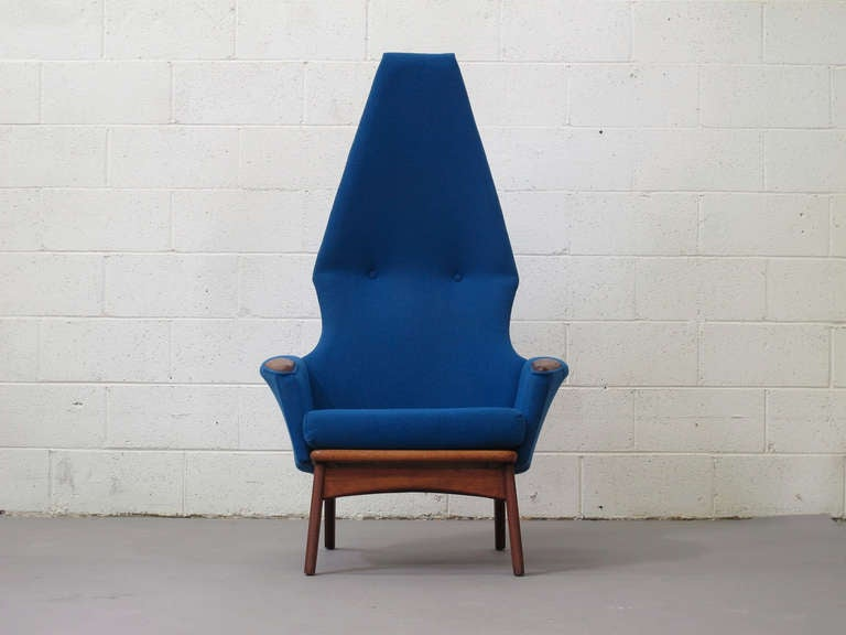 Original Adrian Pearsall Highback Chairs For Sale At 1stdibs