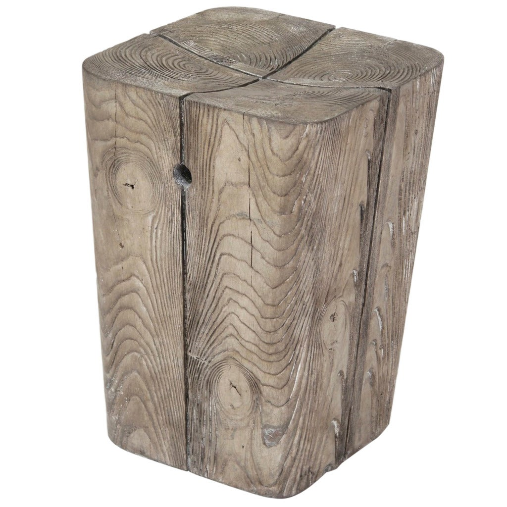 Wood Stump Stool 1  sc 1 st  1stDibs & Wood Stump Stool at 1stdibs islam-shia.org