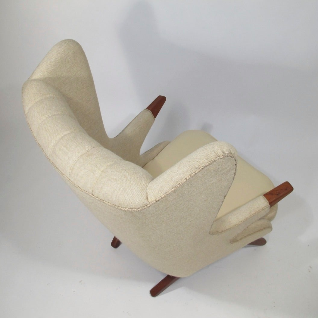Mid Century Svend Skipper Papa Chair For Sale At 1stdibs