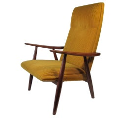Hans Wegner Highback Lounge Chair