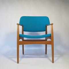 Aksel Bender Madsen Oak Arm Chair