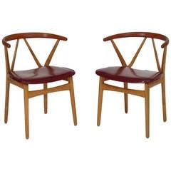 Midcentury Henning Kjaernulf Danish Dining Chairs