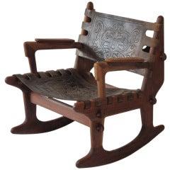 Angel Pazmino Rocking Chair