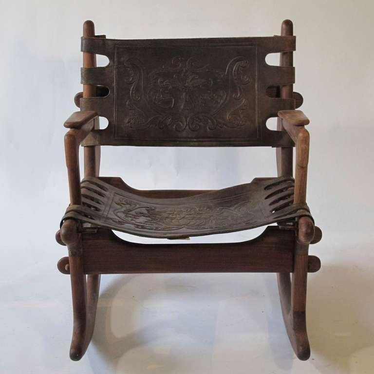 Angel Pazmino Rocking Chair At 1stdibs