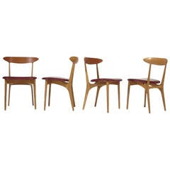 Kurt Ostervig Mid-Century Dining Chairs