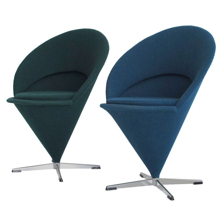 Verner Panton Cone Chair History Verner Panton Cone Chairs