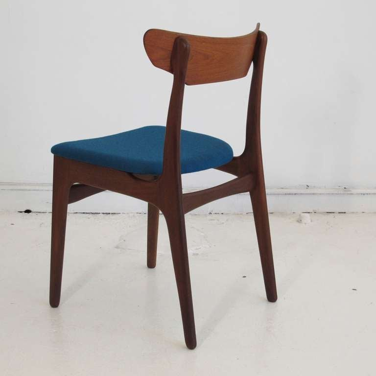 Set of 10 Mid century Danish Dining Chairs at 1stdibs