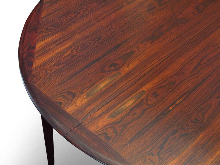 Beautiful Brazilian Rosewood Dining Table For Sale 2