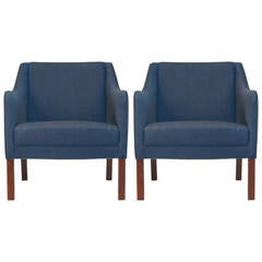 Johannes Hansen Danish Lounge Chairs