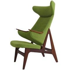 Danish Ox high-back chair