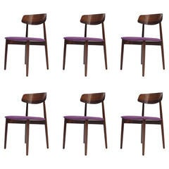 Six Danish Rosewood Dining Chairs - 18 Available