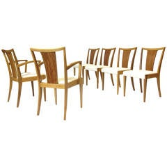 Paul Frankl for Brown Saltman Mid-Century Dining Chairs