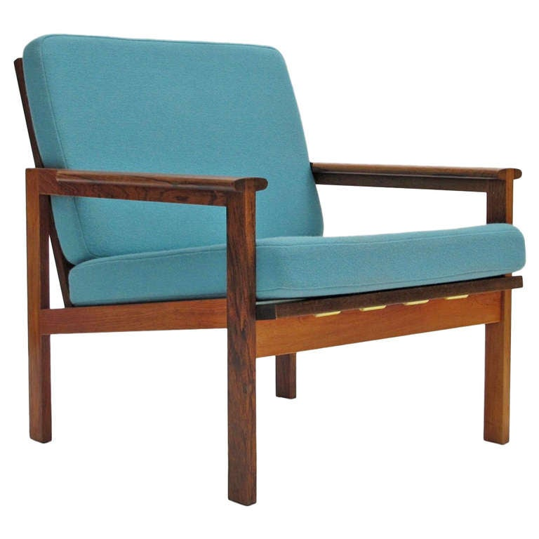 Illum Wikkelso Danish Rosewood Lounge Chair at 1stdibs : 1247560l from www.1stdibs.com size 768 x 768 jpeg 36kB