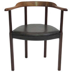 Ole Wanscher for A.J. Iversen Rosewood Chair
