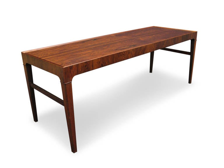 20th Century Mid Rosewood Danish Coffee Table For