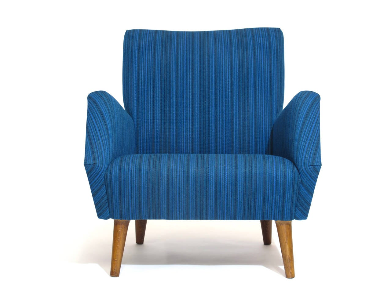 Mid-Century Modern Gio Ponti Model 803 Mid-Century Italian Lounge Chair For Sale