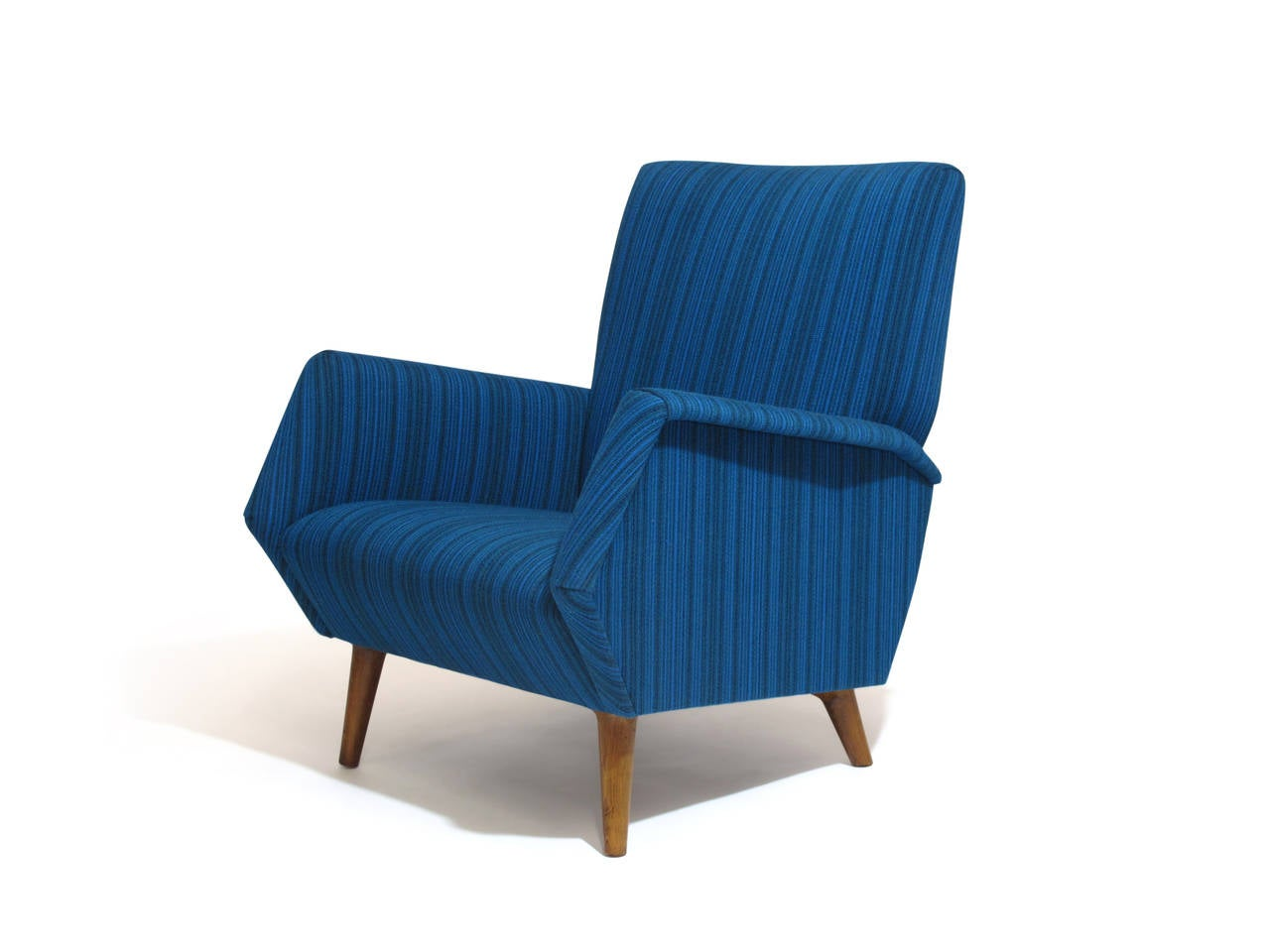 Gio Ponti Model 803 Mid-Century Italian Lounge Chair In Excellent Condition For Sale In Berkeley, CA