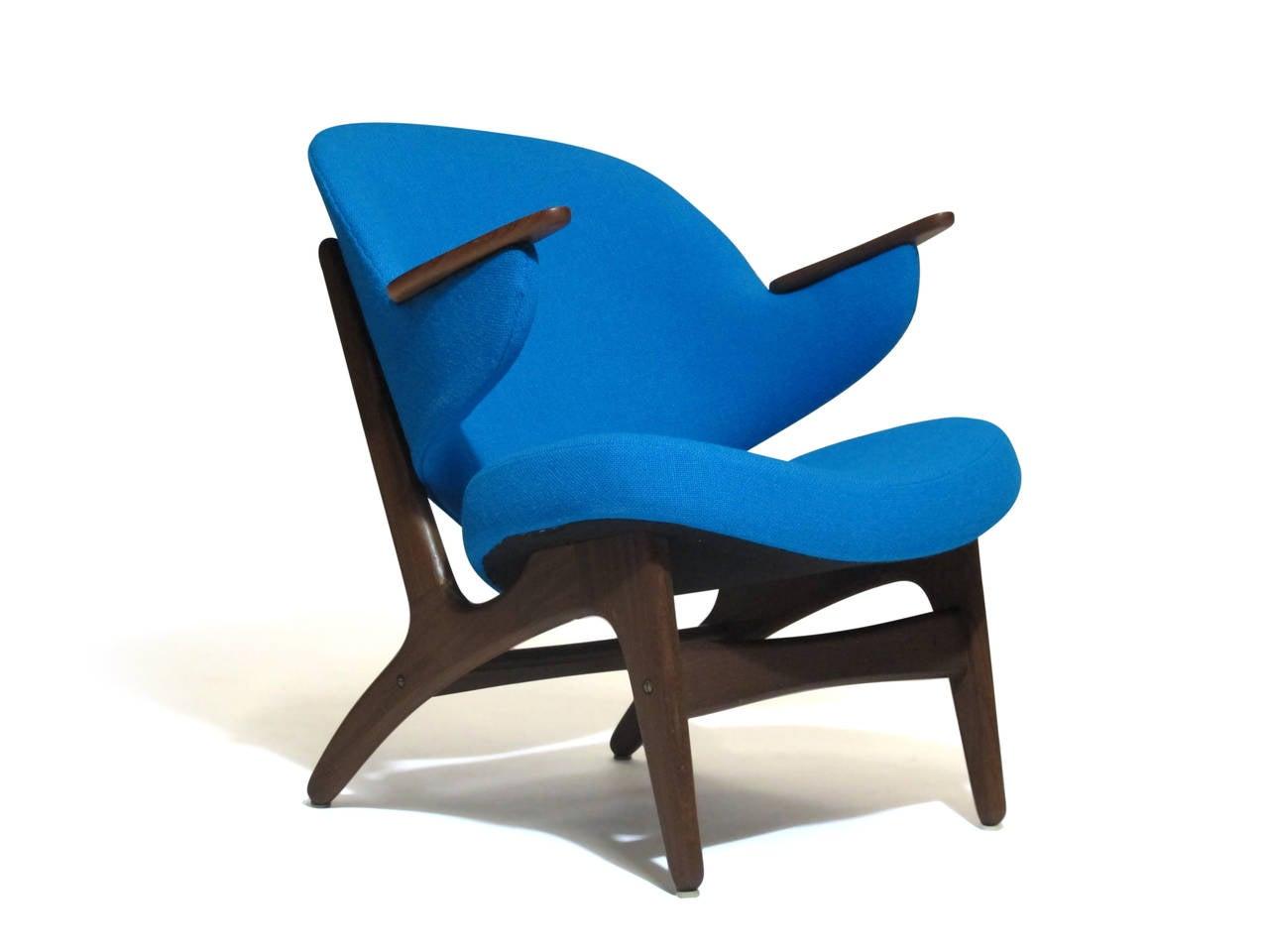 Mid Century Danish Lounge Chair At 1stdibs