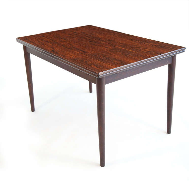 danish brazilian rosewood dining table at 1stdibs