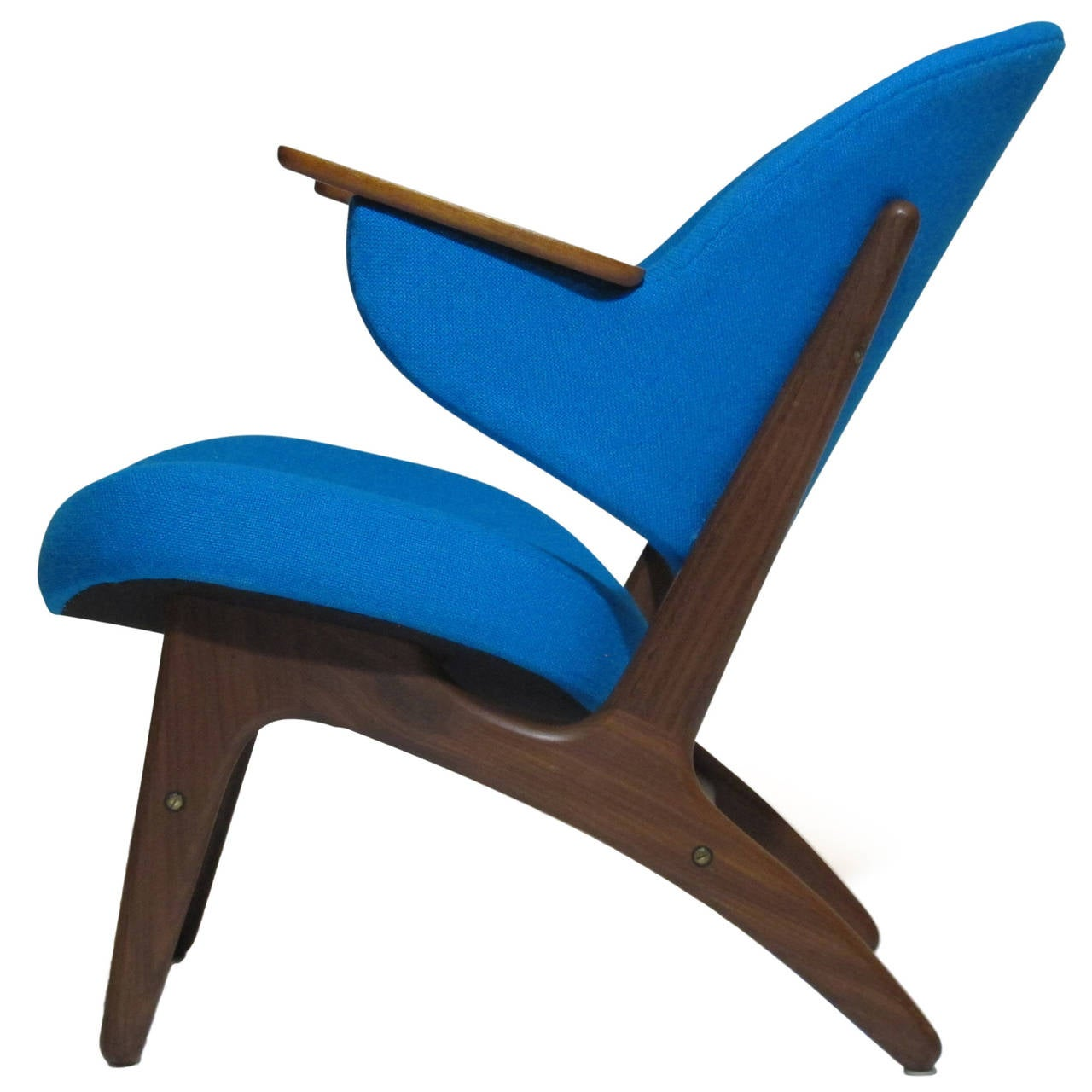 Mid Century Danish Lounge Chair at 1stdibs