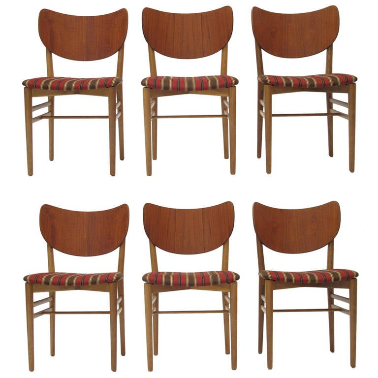 Six Niels and Eva Koppel Dining Chairs, 16 Available