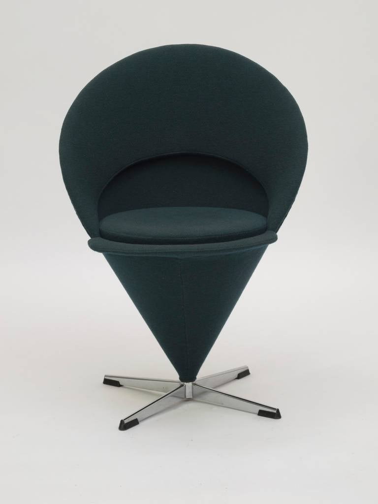 Verner Panton Cone Chair At 1stdibs
