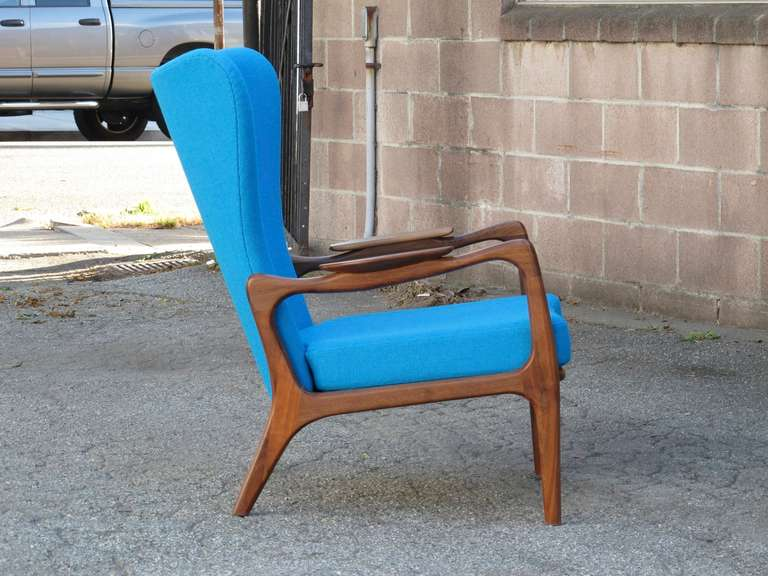 Mid-Century Modern Adrian Pearsall for Craft Associates Lounge Chair